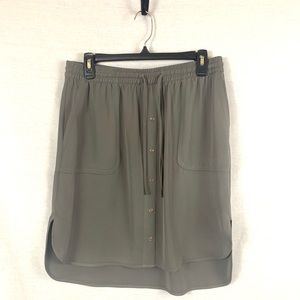 Flowy drawstring skirt